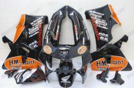 Honda CBR900RR 919 1998-1999 ABS Fairing - HM plant  - Black