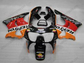 Honda CBR900RR 919 1998-1999 ABS Fairing - Repsol - Black/Red/Orange
