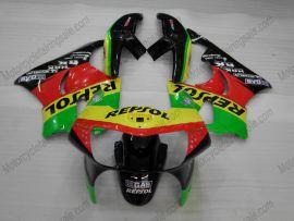 Honda CBR900RR 919 1998-1999 ABS Fairing - Repsol - Red/Black/Green
