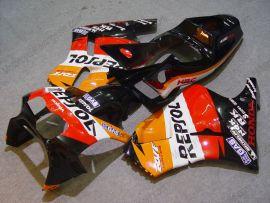 Honda RVF400R NC35 1994-1998 ABS Fairing - Repsol - Red/Orange/Black