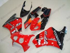Honda VFR400R NC30 1990-1993 ABS Fairing - Others - Black/Red