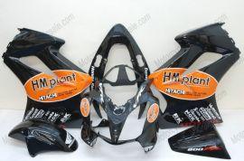 Honda VFR800 2002-2013 Injection ABS Fairing - HM plant - Black