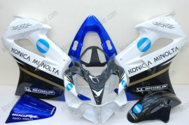 Honda VFR800 2002-2013 Injection ABS Fairing - Konica Minolta - White/Black/Blue