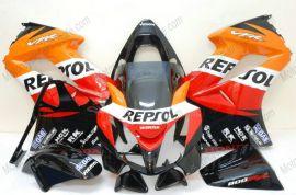 Honda VFR800 2002-2013 Injection ABS Fairing - Repsol - Black/Orange/Red