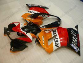 Honda VFR800 2002-2013 Injection ABS Fairing - Repsol - Red/Orange/Black