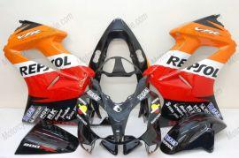 Honda VFR800 2002-2013 Injection ABS Fairing - Repsol - Black/Red/Orange