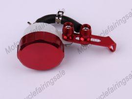 Oil Tank Universal Brake Clutch Fluid Reservoir Red