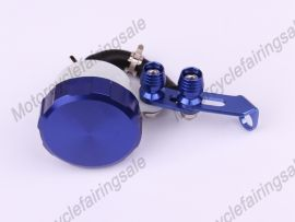 Oil Tank Universal Brake Clutch Fluid Reservoir Blue