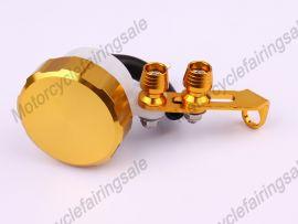 Oil Tank Universal Brake Clutch Fluid Reservoir Yellow