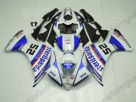 Yamaha YZF-R1 2012-2014 Injection ABS Fairing - Factory Style - Blue/White