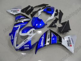 Yamaha YZF-R1 2012-2014 Injection ABS Fairing - Factory Style - Blue/White/Black