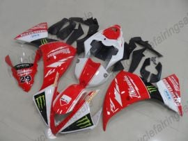 Yamaha YZF-R1 2012-2014 Injection ABS Fairing - MAXXIS - Red/White/Black