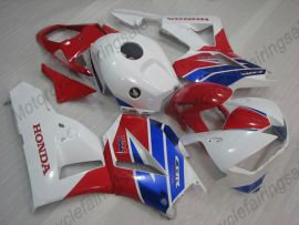 Honda CBR 600RR F5 2013-2019 Injection ABS Fairing - Factory Style- White/Red/Blue