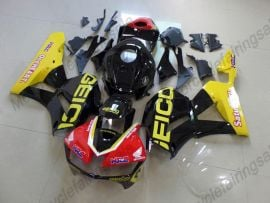 Honda CBR 600RR F5 2013-2019 Injection ABS Fairing - Factory Style- Yellow/Black/Red