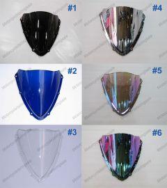 6 x Color Suzuki GSX-R 600/750 2008-2010 K8 Windscreen / Windshield