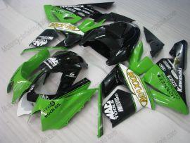 Kawasaki NINJA ZX10R 2003-2005 Injection ABS Fairing - MAXXIS - Green/Black