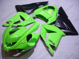 Kawasaki NINJA ZX10R 2003-2005 Injection ABS Fairing - Others - Green/Black