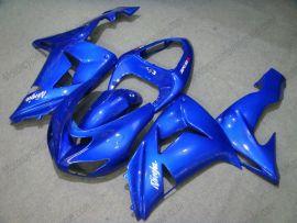 Kawasaki NINJA ZX10R 2006-2007 Injection ABS Fairing - Others - All Blue