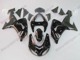 Kawasaki NINJA ZX10R 2006-2007 Injection ABS Fairing - Others - All Black