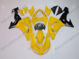 Kawasaki NINJA ZX10R 2006-2007 Injection ABS Fairing - Others - Yellow/Black
