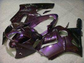 Kawasaki NINJA ZX12R 2002-2005 ABS Fairing - Flame - Purple