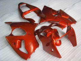 Kawasaki NINJA ZX6R 2000-2002 Injection ABS Fairing - Factory Style - All Orange