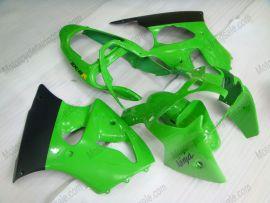 Kawasaki NINJA ZX6R 2000-2002 Injection ABS Fairing - Others - Green/Black