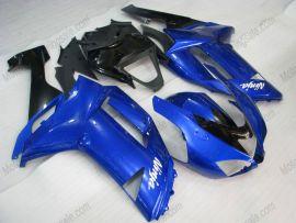 Kawasaki NINJA ZX6R 2007-2008 Injection ABS Fairing - Others - Blue/Black