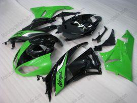 Kawasaki NINJA ZX6R 2009-2012 Injection ABS Fairing - Others - Green/Black
