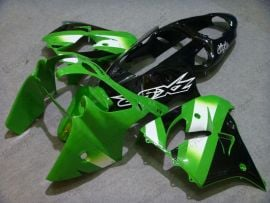 Kawasaki NINJA ZX9R 2000-2001 ABS Fairing - Others - Green/Black