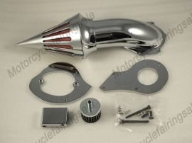 Honda Shadow VLX600 Motorcycle Spike Air Cleaner Filter Kit -1999 UP - Chrome