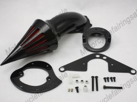 Yamaha New Motorcycle Road Star 1600/1700 Spike Air Cleaner Filter Kit - black
