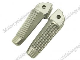 BMW K1200S Front Footrests Foot Pegs - Silver