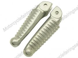 DUCATI 1098 Front Footrests Foot Pegs - Silver