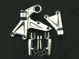 HONDA CBR1000RR 2008-2010 Forefoot pedal Bracket - Silver