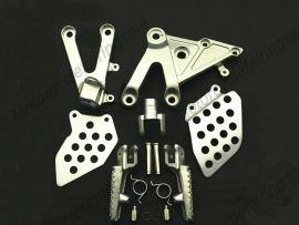 HONDA CBR600RR 2003-2006 Forefoot pedal Bracket - Silver