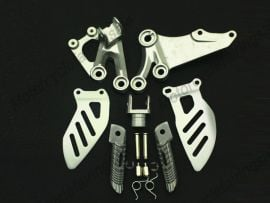 SUZUKI GSXR600 2006-2010 Forefoot pedal Bracket - Silver