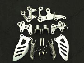 SUZUKI GSXR1000 2005-2010 Forefoot pedal Bracket - Silver