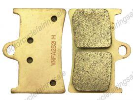 YAMAHA YZF1000 YZF600 1998-2010 Majesty125 YP125 Sintered Front Brake Pads