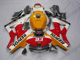 Honda CBR 600RR F5 2013-2019 Injection ABS Fairing - Repsol - Yellow/White/Red