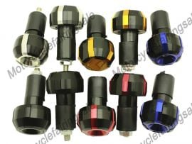 5 x Color Motorcycle Universal End Weight Handlebar
