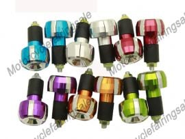 6 x Color Motorcycle Universal End Weight Handlebar