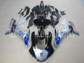 Yamaha YZF-R1 2015-2020 Injection ABS Fairing - Factory Style - Blue/silver