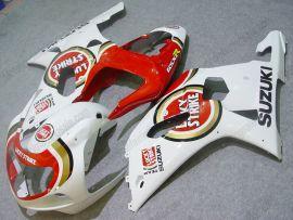 Suzuki GSX-R 1000 2000-2002 K1 K2 Injection ABS Fairing - Lucky Strike - Red/White