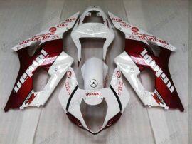 Suzuki GSX-R 1000 2003-2004 K3 Injection ABS Fairing - Jordan - White/Red