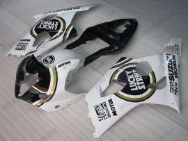 Suzuki GSX-R 1000 2003-2004 K3 Injection ABS Fairing - Lucky Strike - White/Black
