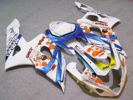 Suzuki GSX-R 1000 2005-2006 K5 Injection ABS Fairing - Dark Dog - White/Blue/Orange