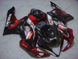 Suzuki GSX-R 1000 2005-2006 K5 Injection ABS Fairing - Others - Black/Red