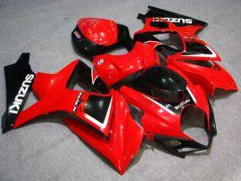 Suzuki GSX-R 1000 2007-2008 K7 Injection ABS Fairing - Others - Red/Black