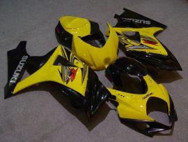 Suzuki GSX-R 1000 2007-2008 K7 Injection ABS Fairing - Others - Yellow/Black